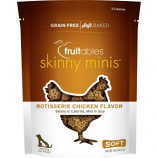 Manna Pro - Fruitables Skinny Minis Soft Chew Dog Treat - Chicken - 5Oz