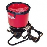 Earthway Products  - Professional Hand Crank Broadcast Spreader - Red - 40 Pound Hopper