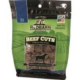 Redbarn Pet Products - Redbarn Naturals Cuts Premium Dog Treat - Beef - 8 Oz