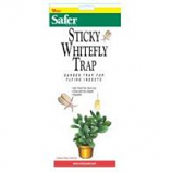 Woodstream Lawn & Garden - Safer Sticky Whitefly Disposable Trap--3 Pack