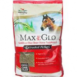 Manna Pro-Max-E-Glo Rice - Max-E-Glo Rice Bran Pellet Supplement For Horses--40 Pound