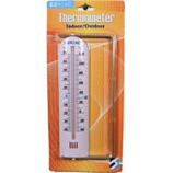 Headwind Consumer - Indoor Outdoor Thermometer With Bracket-White-9 Inch