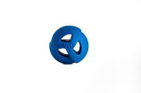 "WO - Ball - Blue - 2.8"" Diameter"
