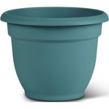 Bloem - Bloem Ariana Planter With Grid - Bermuda Teal - 6 Inch