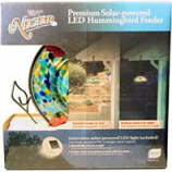 Natures Way Bird Prdts - Illuminated Top-Fill Hummingbird Feeder-Blue