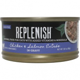 Replenish Pet - Grain Free Canned Cat Food - Chicken/Salmon - 2.8 oz