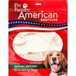 Pet Factory - American Beefhide Chips - Natural - 22 Oz