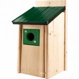 Audubon/Woodlink - Lake & Cabin Bluebird House Green Metal Roof - Green
