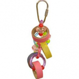 A&E Cage Company - Happy Beaks Keet Rings Bird Toy - Small