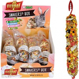 A&E Cage Company - A&E Treat Stick Small Animal Display - Fruit - 12 Piece