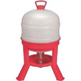 Miller Mfg - Waterer Dome - Red - 8 Gallon