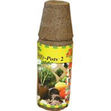 Jiffy/Ferry Morse Seed - Jiffy - Pots Round Seed Starters - 2.5 In/12 Pack