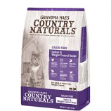 Grandma Mae's Country Natural - Country Naturals Grain Free Weight Control/Hairbal - 12 Lb
