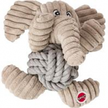 Ethical Dog - Plush Knot For Nothin' Dog Toy - Assorted - 6.5In