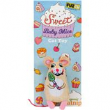 Fuzzu- Sweet Baby Mice Lolli Mouse Cat Toy - Multi - Medium