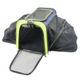 Cozy Ventilated Two-Sided Expandable and Spacious Pet Travel Carrier for Dogs and Cats for pets up to 20 lbs