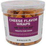 Triumph Pet Industries - Weenie Wraps Dog Treats - Cheese - 40 Oz