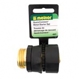 Melnor - Brass Quick Connector Kit - Brass - 17 Inch