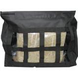 Horse And Livestock Prime - Hay Bag Slow Top Load - Black - 24.5 X 10 X .25