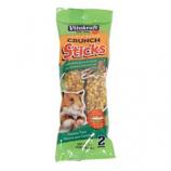 Vitakraft Pet Products - Crunch Sticks Honey Flavored W/ Yogurt - Hamster - Grain/Honey - 3 oz/2 Pack
