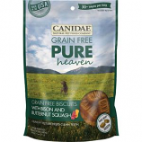 Canidae-Pure - Heaven Biscuits Dog Treats - Bison/Butternut - 11 Oz