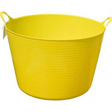 Tuff Stuff Products - Flex Tub - Yellow - 7 Gallon