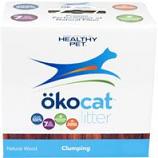 Healthy Pet - Litter - Okocat Natural Wood Clumping Cat Litter-7.5 Pound