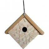 Welliver Outdoors - Welliver Outdoors Carved Acorn Wren House - Natural