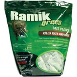 Neogen Rodenticide - Ramik Green Bait Packs-4 Ounce/16 Pack