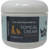 Treatibles - Full Spectrum Hemp Oil Topical Cream Cats And Dogs - 4 Ounce