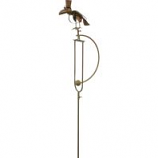 Esschert Design Usa - Metal Bird Rocker Stake with Hat