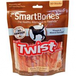 Petmatrix - Smartbones Smart Twist Sticks-Peanut Butter-50 Pk