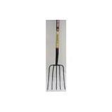 Truper Tools  - Tru Pro 5 Tine Manure Fork Long Handle - Steel/Wood - 54 Inch