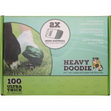 Paws/Alcott - Heavy Doodie 2-Ply Waste Bags - 100 Count