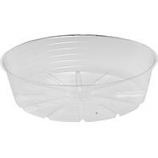 Bond Manufacturing - Deep Plastic Saucer-Clear-14 Inch
