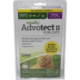 Tevra Brands - Vetality Advotect Ii Flea And Tick For Cats - 5-9 Lb/6 Pack