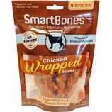Petmatrix - Smartbones Chicken Wrapped Sticks-Peanut Butter-8 Pk