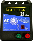 Woodstream Zareba - Zareba 25MI Ac Low Impedence Energizer - Black - 25 Mile