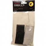 Aquatop Aquatic Supplies - Forza Replacement Filter With Activated Carbon - Black - 15 Gallon