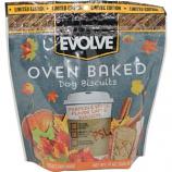 Triumph Pet Industries - Evolve Oven Baked Dog Biscuits - Pumpkin Spice - 12 oz