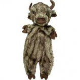 Ethical Dog - Plush Furzz Buffalo - Brown - 13.5In