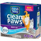 Clorox Petcare Products - Fresh Step Clean Paws Multi Cat Litter - 18 Lb