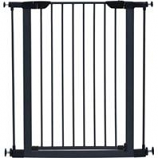 Midwest Homes For Pets - Steel Glow Stripe Pet Gate - Graphite - 39 H X 29 - 38 W