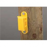 Dare Products Inc-Wood Post Tape Insulator-Yellow-25 Pack