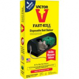 Woodstream Victor Rodent - Disposable Mouse Bait Station - 2 Pack