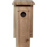 Welliver Outdoors - Welliver Outdoors Carved Church Bluebird House - Natural