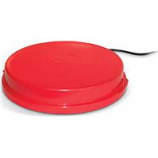 K&H Pet Products - Heated Poultry Base-Red-80 Watts