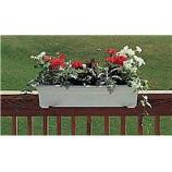 Novelty Mfg -Countryside Flowerbox-White-18 Inch