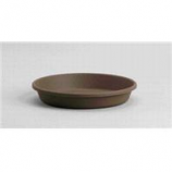 Myers Industries - Classic Pot Saucer - Chocolate - 12 Inch