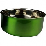 A&E Cage Company - Stainless Steel Coop Cup With Bolt Hanger - Green - 30 oz